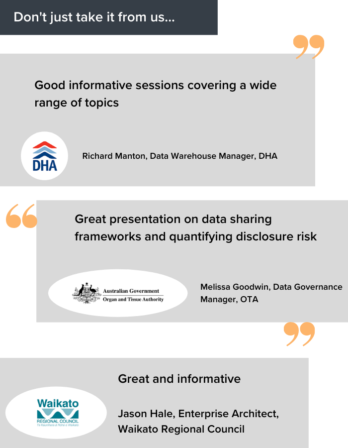 0660 Data Architecture ANZ Why Attend
